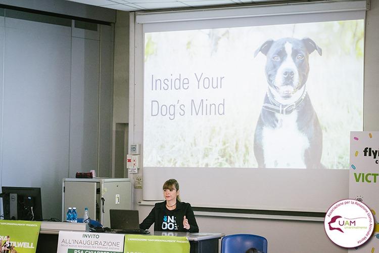 Una dog dog trainer di fama mondiale per sostenere la pet therapy in ospedale a Torino