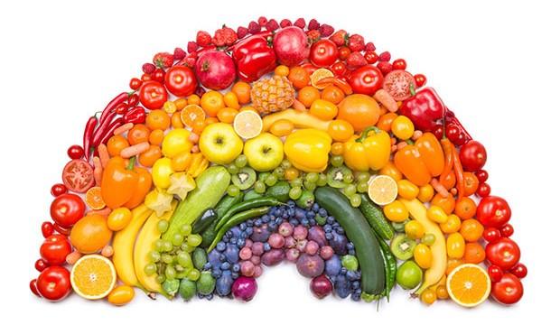 Un arcobaleno di salute