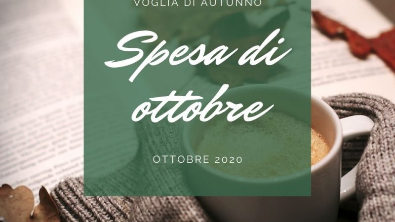 La spesa di Ottobre